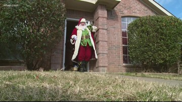 Santa receives surprising request, delivers Christmas miracle