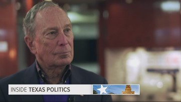 Inside Texas Politics: Mike Bloomberg sits down with Jason Whitely to discuss presidential campaign