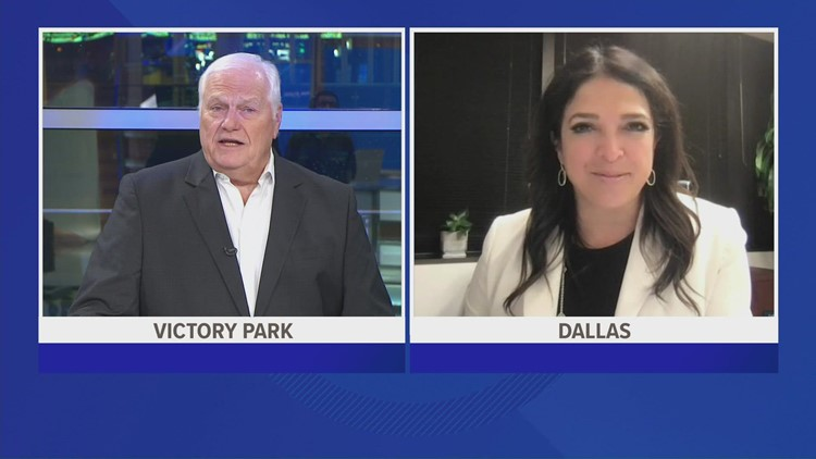 Dale Hansen interviews Dallas ISD Athletics Director Dr. Silvia Salinas about canceled games