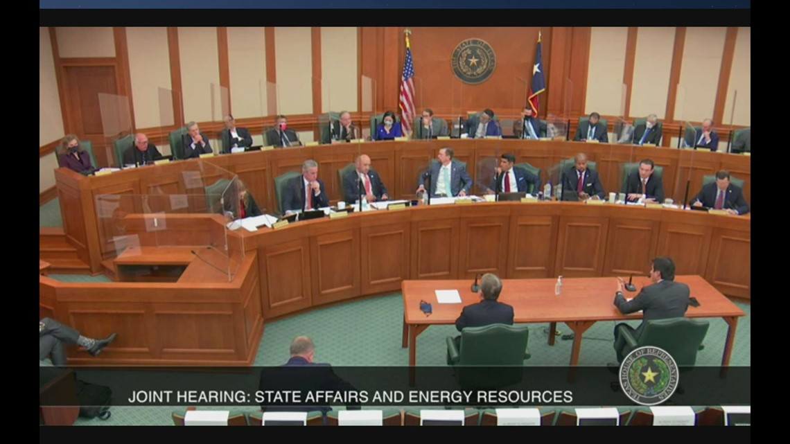 'Who screwed up?' Rep. Todd Hunter grills energy CEOs over winter storm power outages