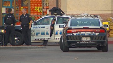 SWAT searches Tom Thumb grocery store after robbery in North Dallas; suspect remains at large