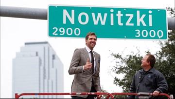 Dallas renames street 'Nowitzki Way' to honor Dallas Mavericks legend
