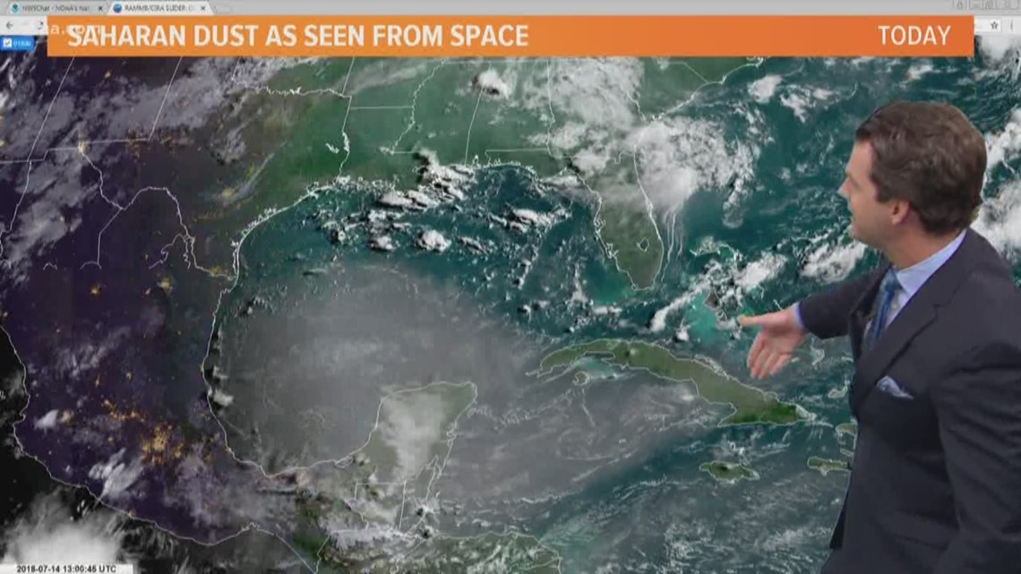 saharan dust returning to north texas