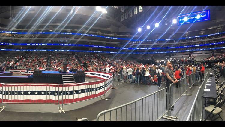 AAC Trump rally