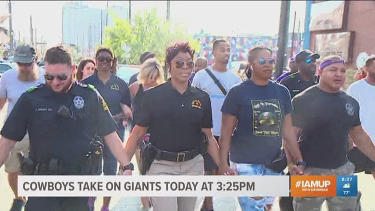 March to end violence takes place in Deep Ellum