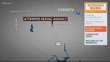 Corinth police searching for suspect