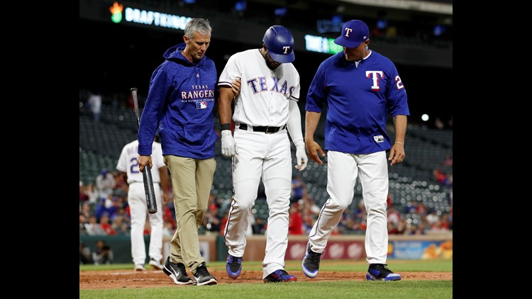 Rangers place Elvis Andrus on 10-day disabled list