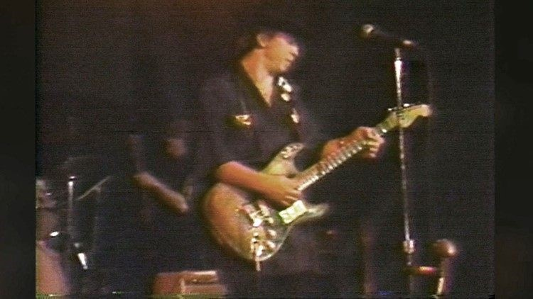 It was the guitar Stevie Ray Vaughan used in his first studio recording and early performances.