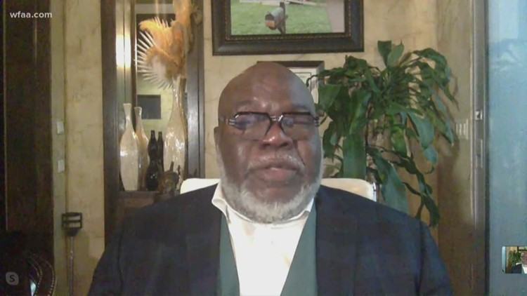 TGI Texas: Bishop TD Jakes shares how The Potter's House is handling the pandemic