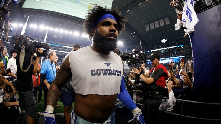 Dallas Cowboys RB Ezekiel Elliott plans to hold out of training camp until he gets a new contract, report says