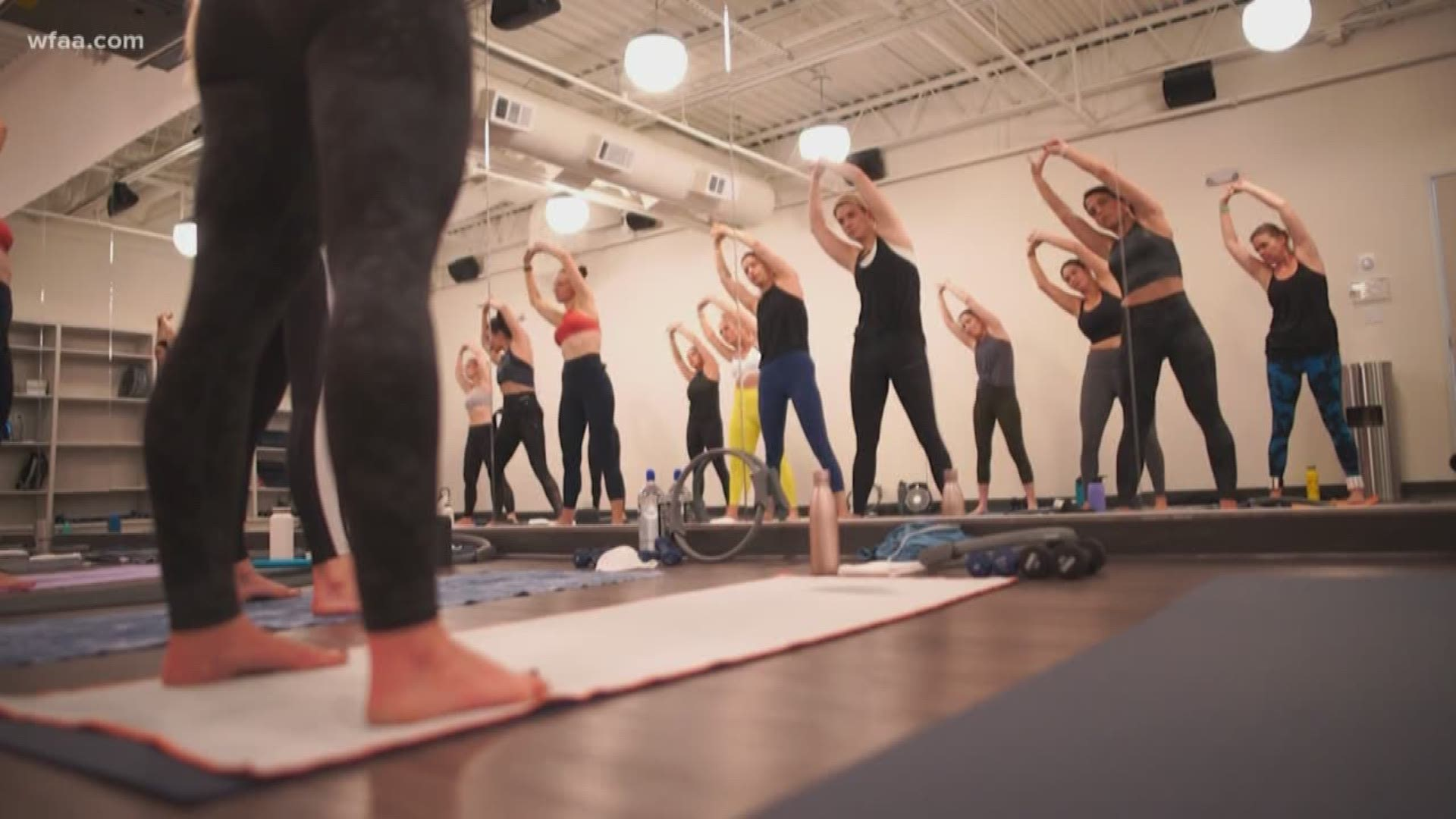 Wellness Wednesday Sonia Spotlights Shine Hot Pilates Sculpt Wfaa Com
