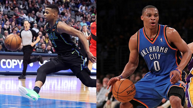 In less minutes per game, Dennis Smith Jr. put up numbers similar to those of Russell Westbrook posted in his rookie campaign in 2008-09.
