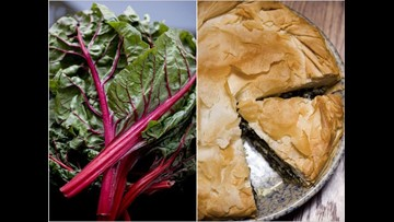 Swiss Chard Pie and Crust