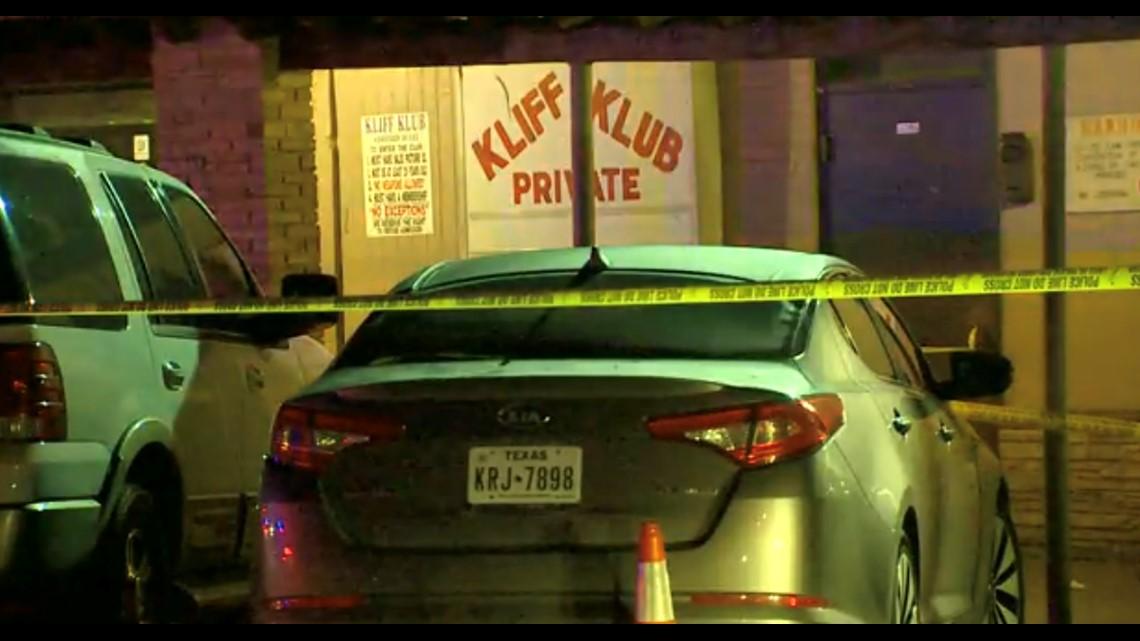 gunman on the loose after shooting  stabbing at kliff klub