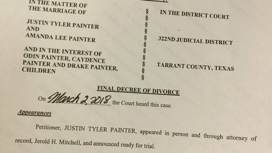 Judge Court Never Heard Mental Health Claims In Divorce Involving