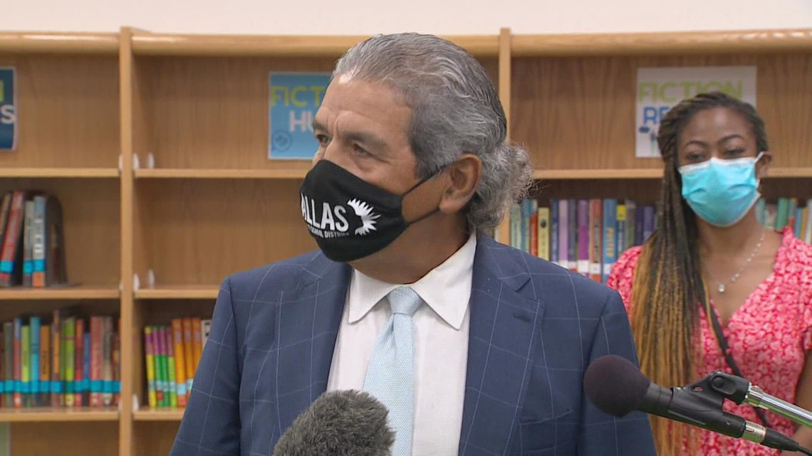 President Biden calls Dallas ISD superintendent, thanks him for holding firm on mask requirements