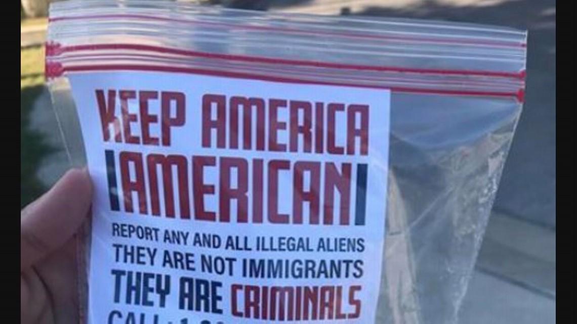 Anti Immigrant Propaganda Found In Quiet San Antonio