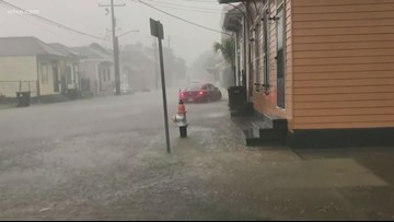 Residents of New Orleans prep for Tropical Storm Barry