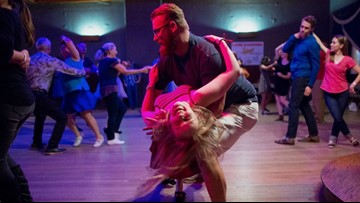 Swing dancing: Human contact making a comeback