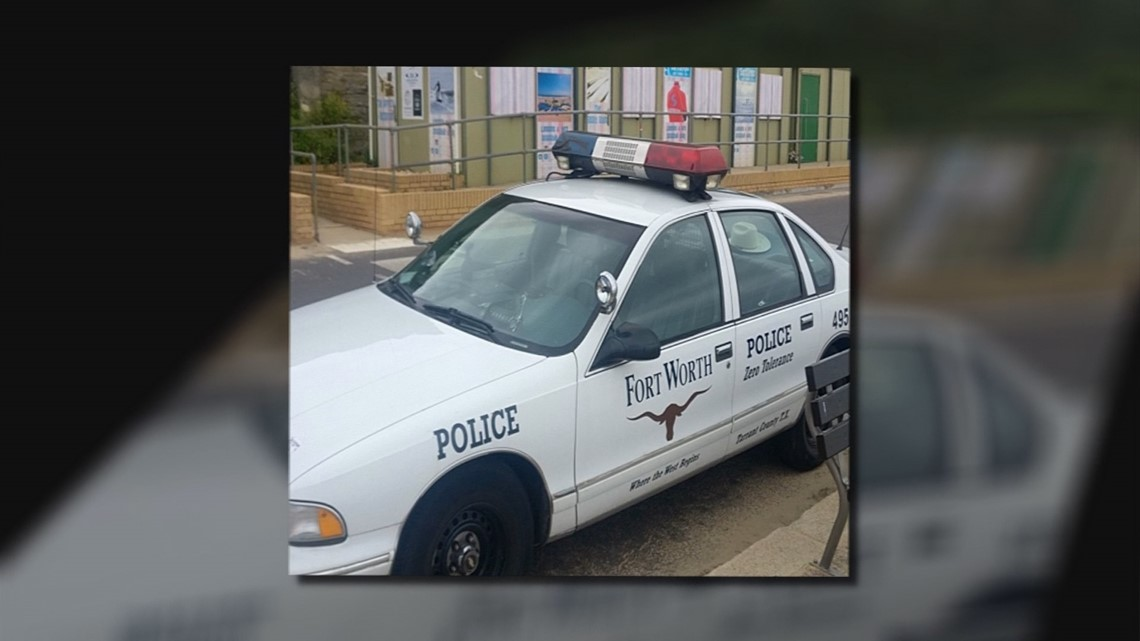 College Station Ford >> Did a Fort Worth Police Car end up in England? Photos show vintage cruiser in UK beach town ...