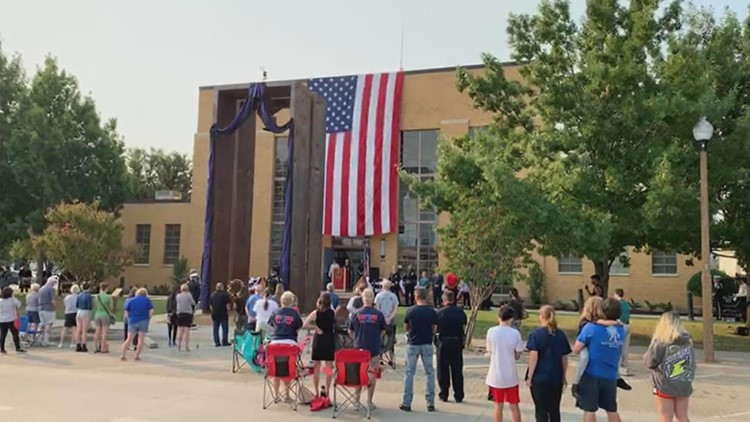 Here's how people across North Texas honored the victims of 9/11, 20 years later