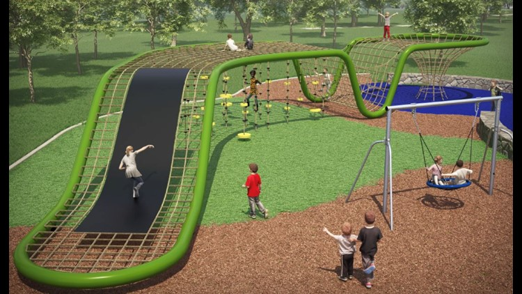 """Playgrounds are for everyone. They are places for interactive enjoyment,"""