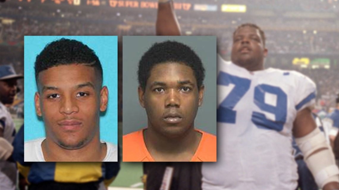 922ed72aa37 Son of former All-Pro Dallas Cowboy arrested in double murder stemming from  drug deal