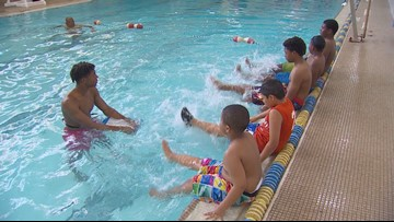 A southern Dallas neighborhood is trying to tackle drownings this summer