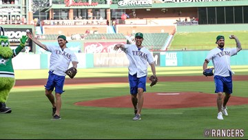 Stars mash homers at Rangers BP, while dreaming about Tavares possibilities