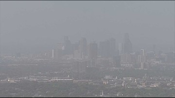 Blame the Sahara Desert – yes, that one – for DFW's hazy sky