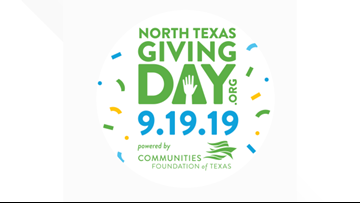 List of celebration events leading up to North Texas Giving Day