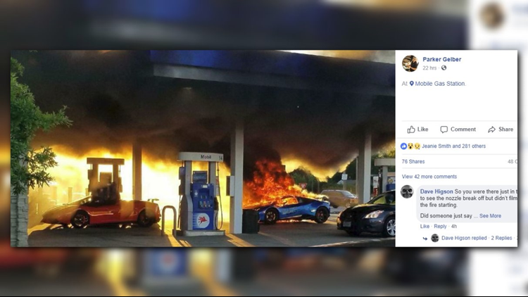 A posted video appears to show what led to the fire.