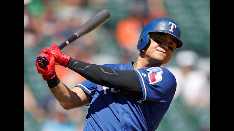 While Shin-Soo Choo was busy breaking records, the Rangers were struggling to find their bearings