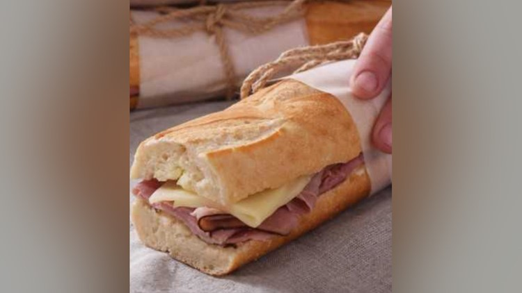 Recipe: Jambon-Beurre Baguette Sandwich