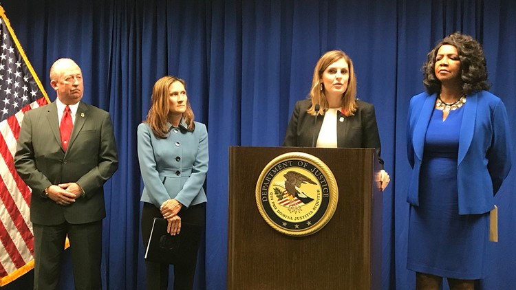 "Eight members of the notorious MS-13 gang have been indicted on charges stemming from a ""spree of violence"" across the Dallas area, U.S. Attorney Erin Nealy Cox said Friday."