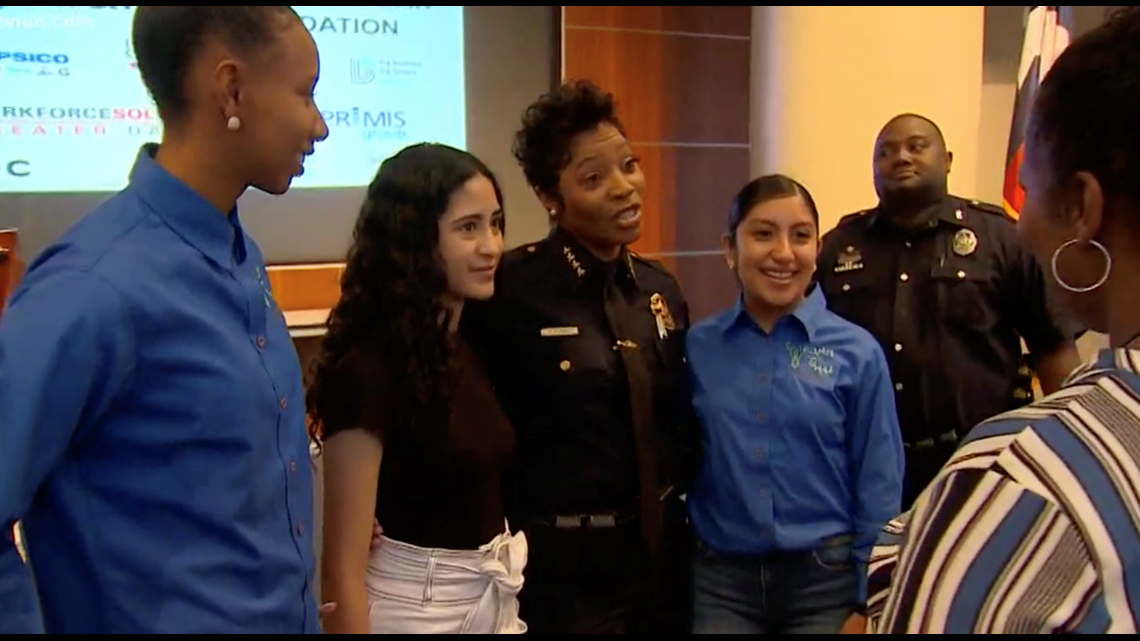 Dallas police chief announces new Summer Youth Jobs program