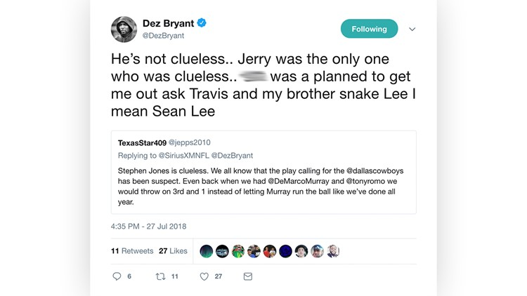 Garbage Playcalling And Snake Lee Dez Bryant Is Going