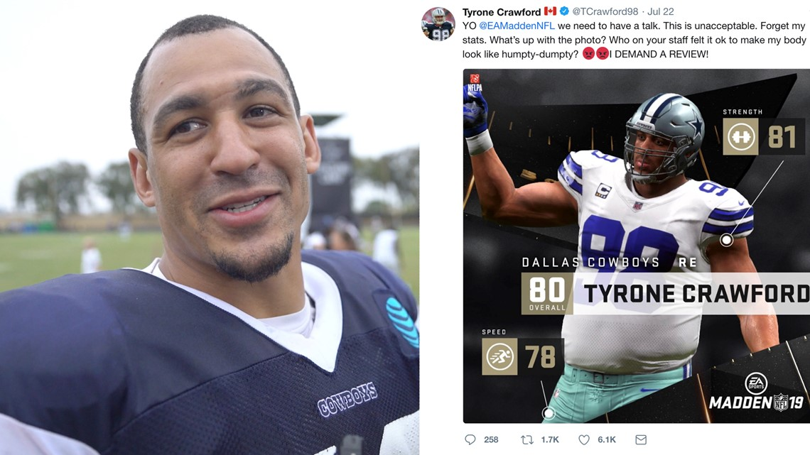 san francisco e5777 3efbd Tyrone Crawford on Madden physique flub: 'They had me at ...