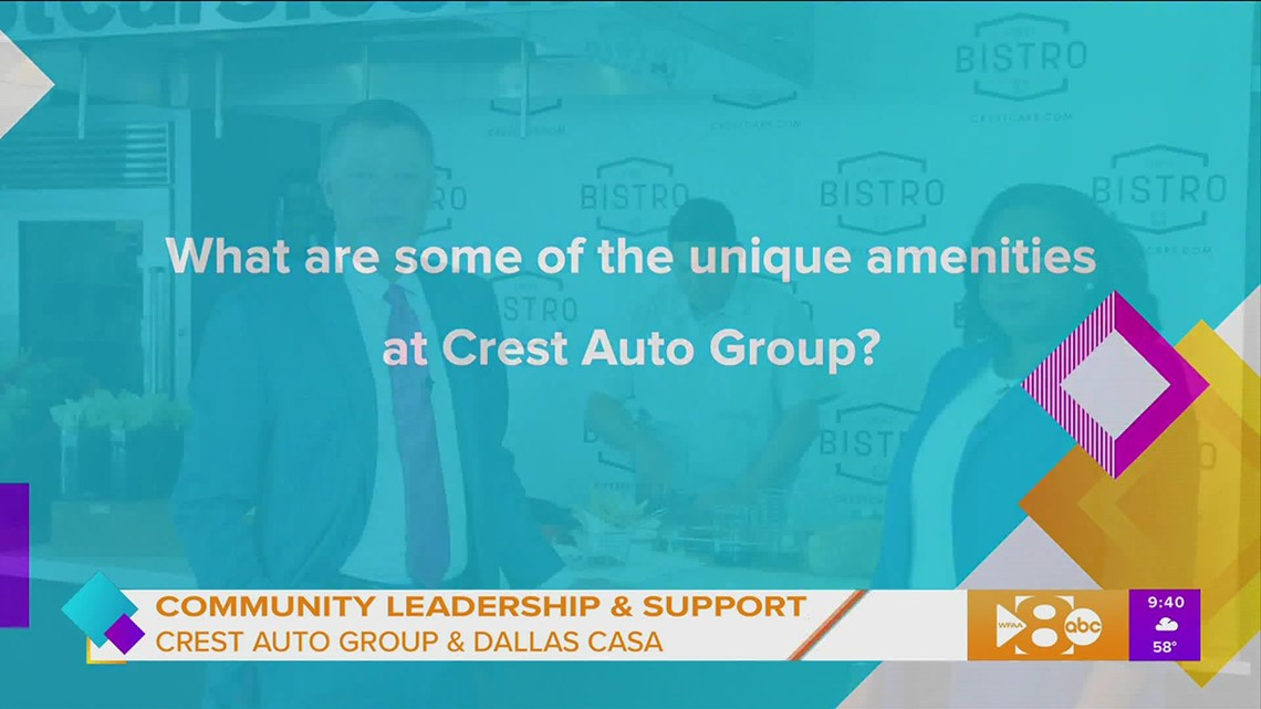 Community Leadership and Support with Crest Auto Group and Dallas CASA