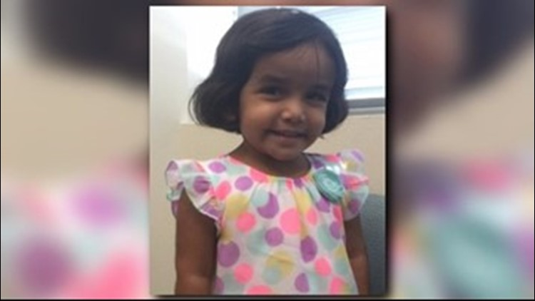 Sherin Mathews suffered untreated broken bones before she was killed, prosecutors say