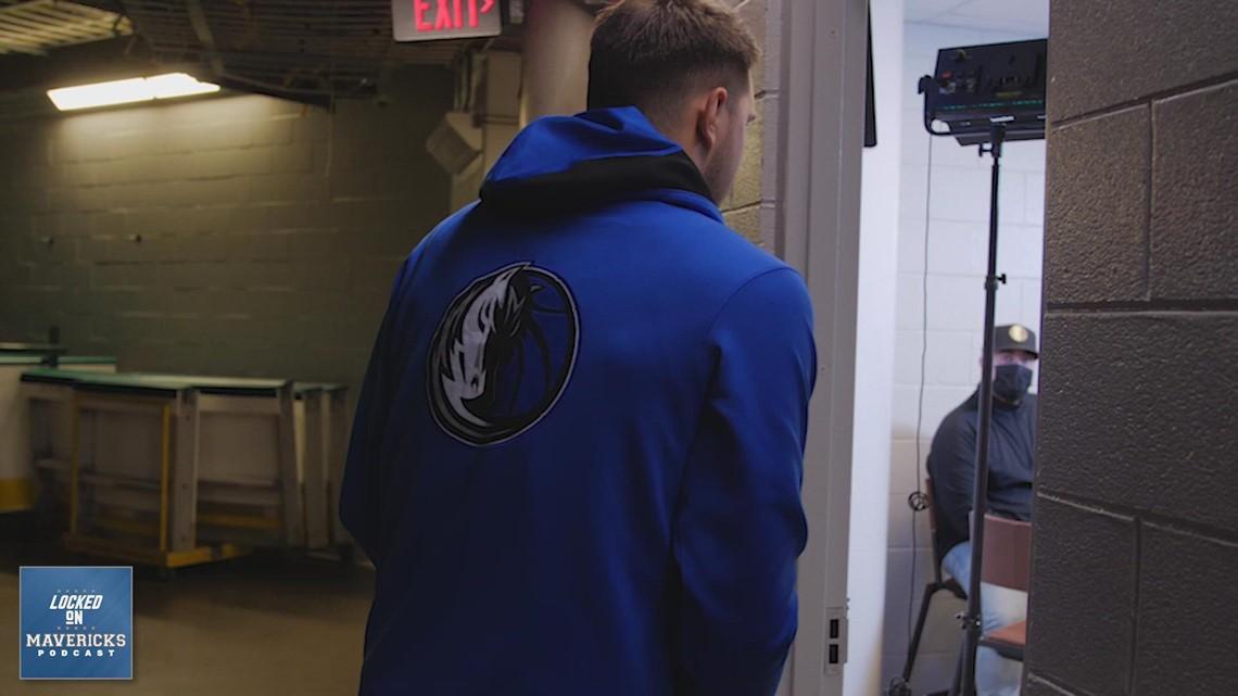Luka Doncic talks to Locked On Mavericks