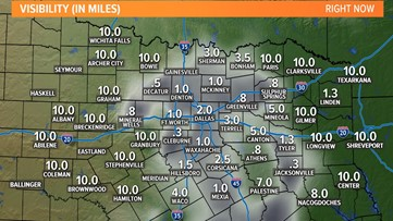 Expect patchy areas of dense fog during Tuesday commute