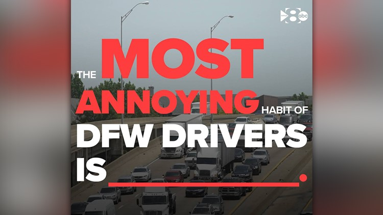 The most annoying habits of DFW drivers: No. 1