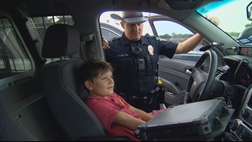 'That police officer changed my life': McKinney officer calms nervous boy