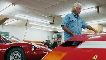 The Ferrari King works in a shop north of Dallas but is 'literally world famous'