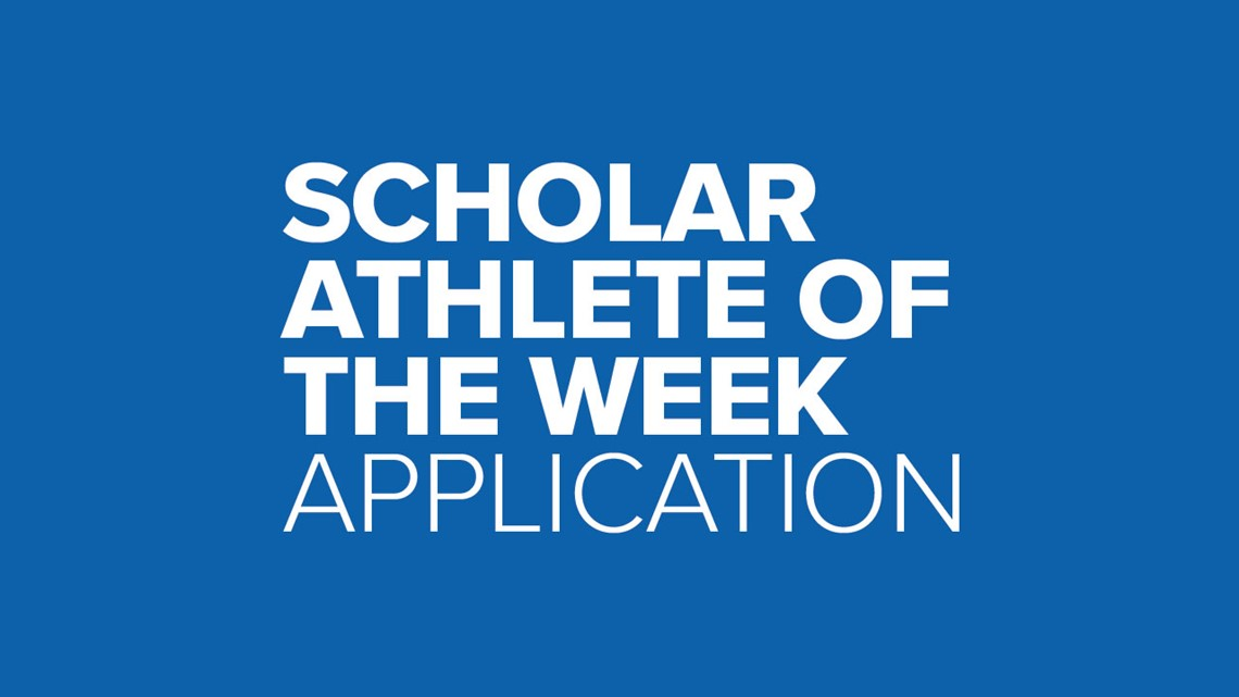 Scholar Athlete of the Week Application