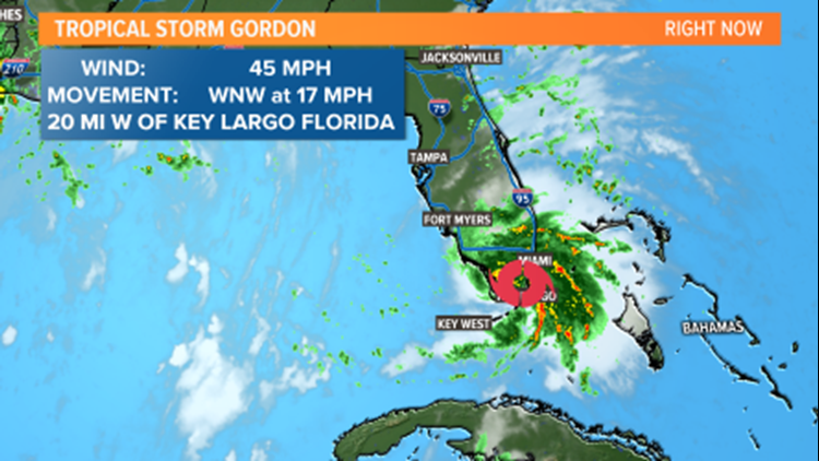 MEMA Preparing for Tropical Storm Gordon