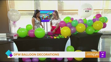 Beautiful balloon decorations