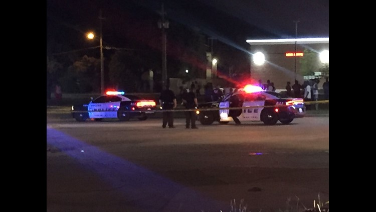 Police say a group of men got into an argument and one of them pulled a gun.