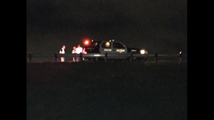 A man walking on I-820 was struck and killed by multiple vehicles in Fort Worth.